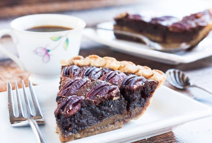Chocolate Pecan Pie - Easy Thanksgiving Recipe