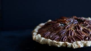 Maple Vanilla Pecan Pie with Sprouted Spelt Crust