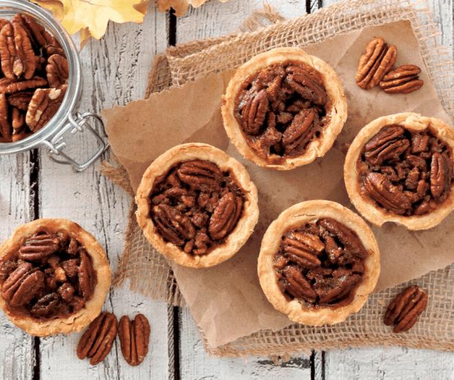 Festive Pecan Desserts - Mini Pecan Pies