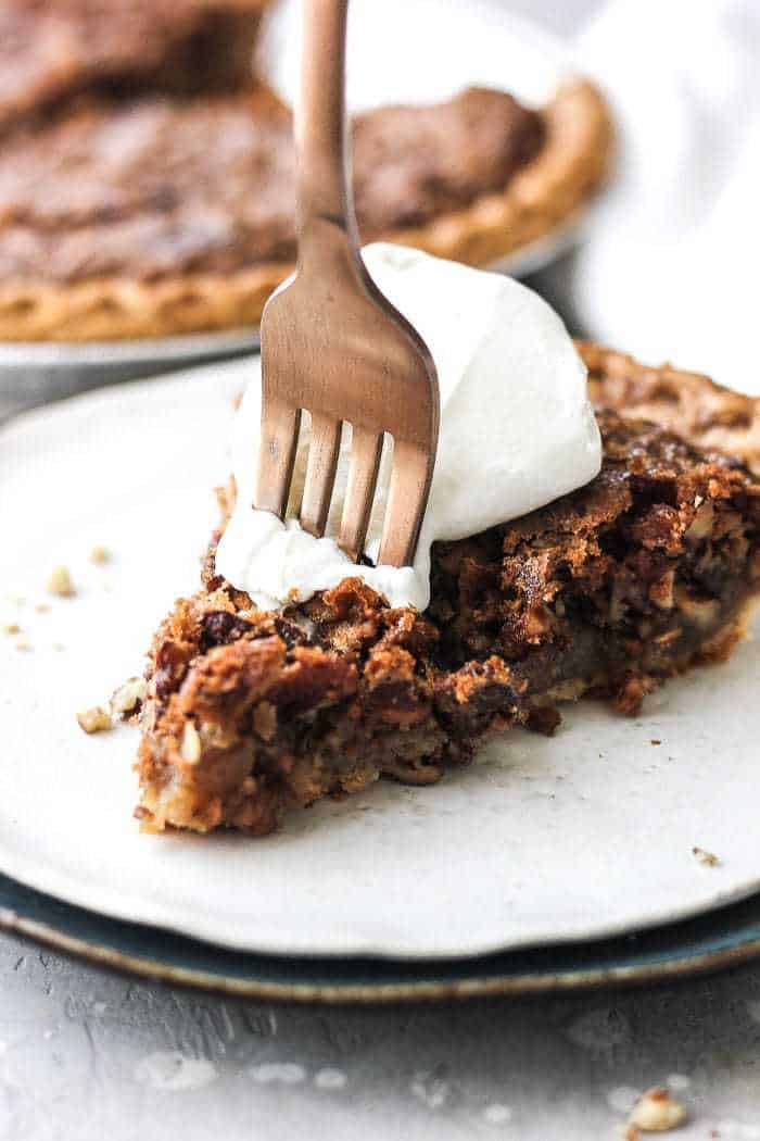 Easy classic pecan pie recipe