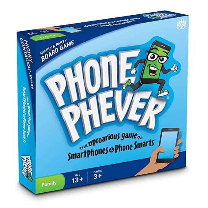 Phone Phever Board Game -