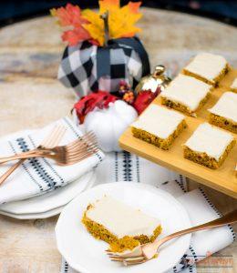 Pumpkin-Cranberry-Bars-Brown-Butter-Frosting