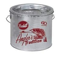 Frabill Galvanized Floating Bucket (2-Piece), 8-Quart