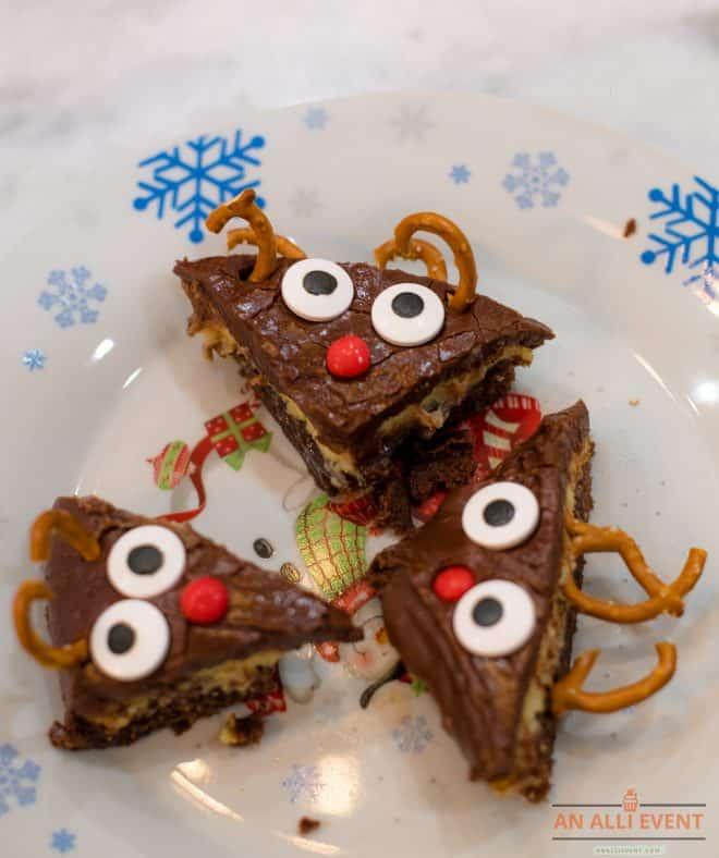 Reindeer-Brownies