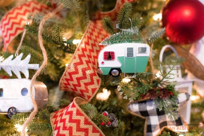 Glamping Tree - Camper Ornaments