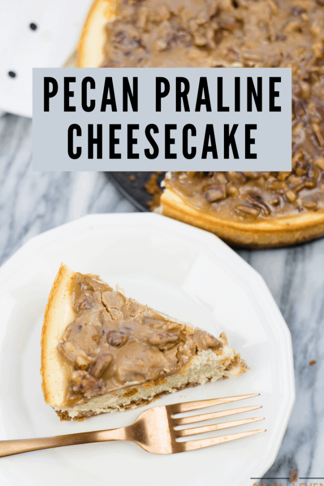 Pecan-Praline-Topped-Cheesecake