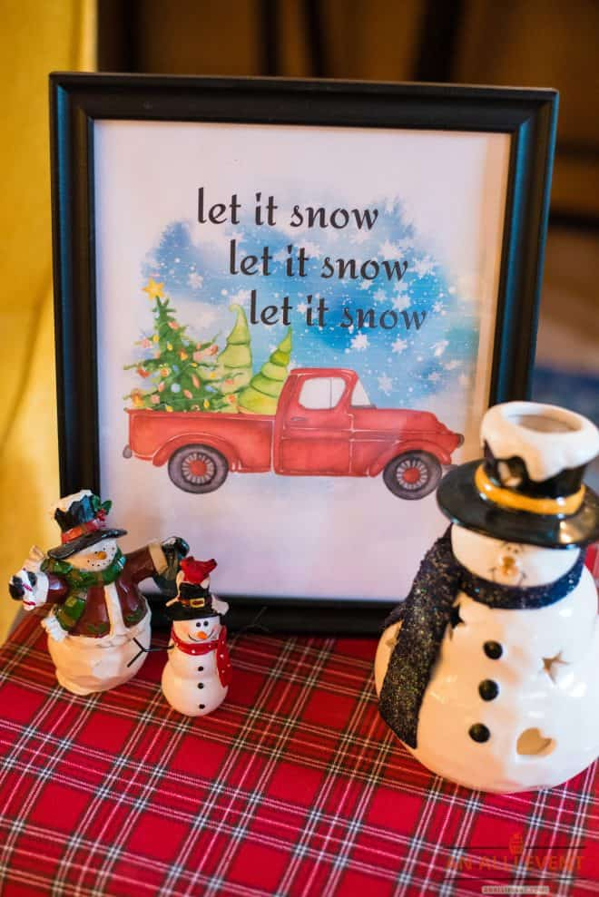 Let It Snow-Free-Printable