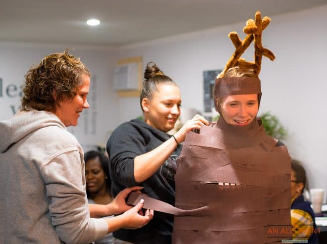 Reindeer-Wrap-Game-Glamping-Party