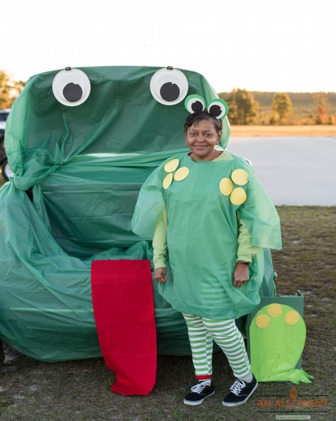Frog-Trunk-Or-Treat