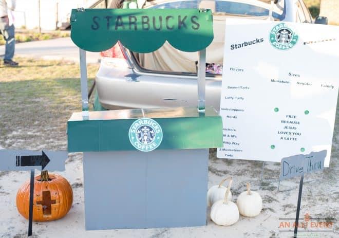 Starbucks-Trunk-Or-Treat