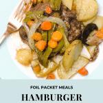 hamburger hobos on plate