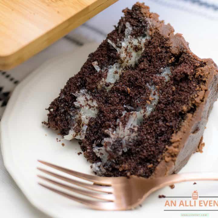 Chocolate Mounds Cake