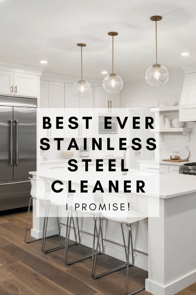 Kitchen With Best Stainless Steel Cleaner