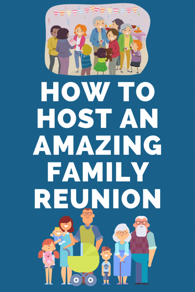 How to Host An Amazing Family Reunion With Photo of Family