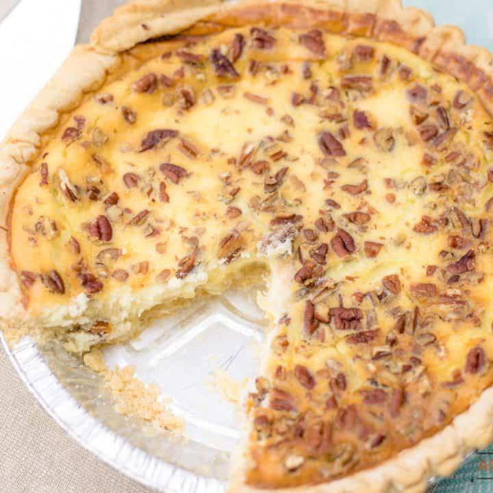 Cream Cheese Pineapple Pie