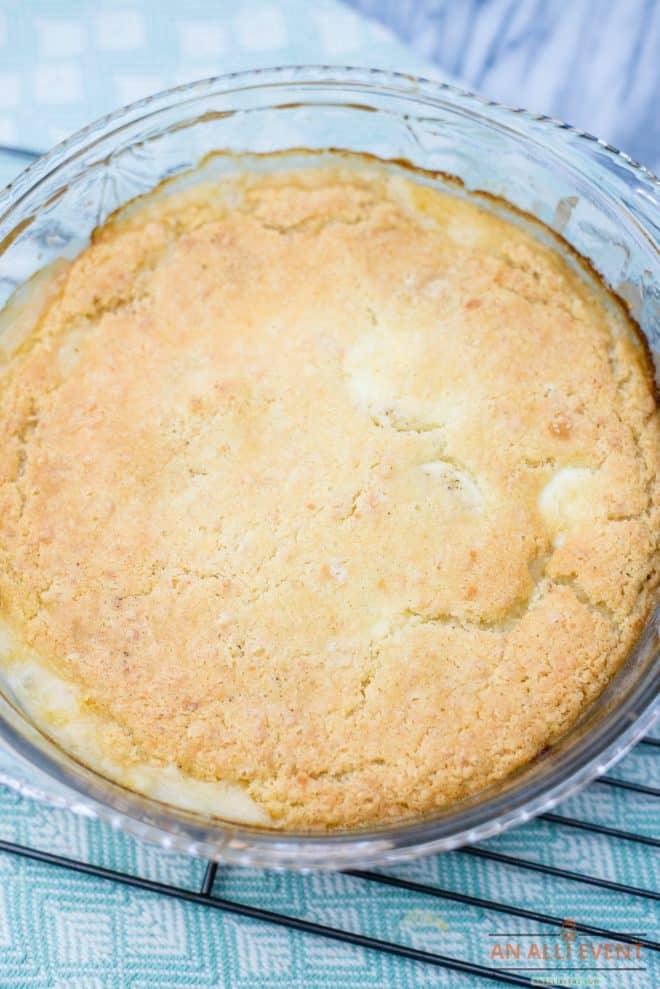 Homemade Chicken Pot Pie Casserole