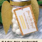 Easy DIY Mason Jar Angel Gift Idea