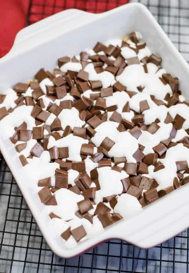 Easy Baked S'Mores Bars