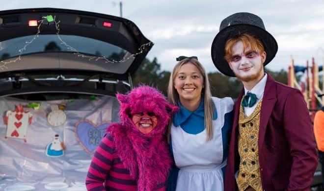 Alice in Wonderland Trunk or Treat Ideas