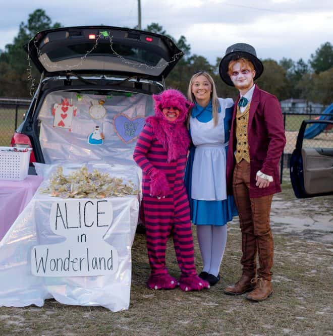 Alice in Wonderland Trunk or Treat party