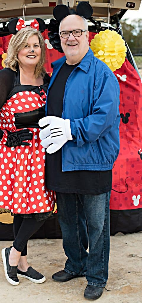 Mickey and Minnie Mouse Trunk or Treat
