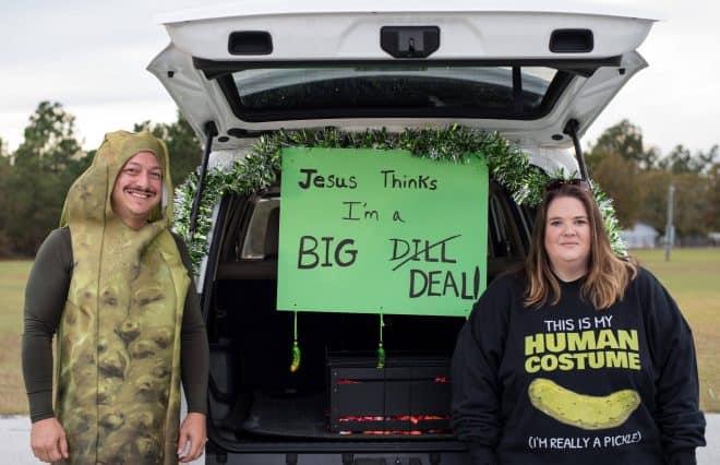 Jesus thinks I'm a big deal trunk